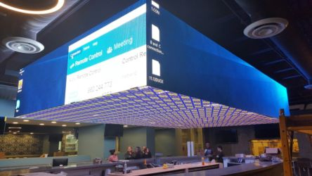 3D LED screen